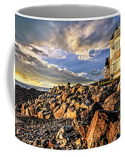Hampton Beach Sunrise Coffee Mug
