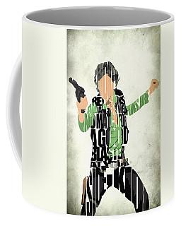 Han Solo From Star Wars Coffee Mug by Ayse Deniz