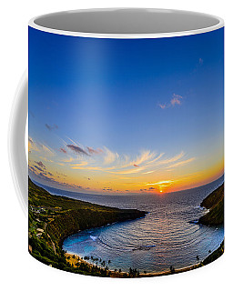 Hanauma Bay Sunrise Coffee Mug