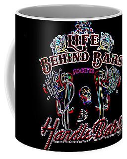 Handle Bars In Neon Coffee Mug