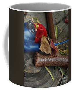 Coffee Mug featuring the photograph Handled With Care by Peter Piatt
