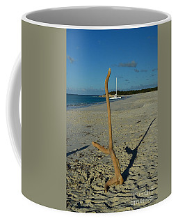 Coffee Mug featuring the photograph Handstand by Judy Wolinsky
