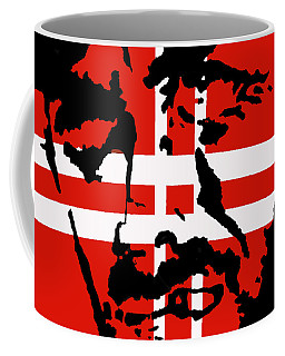 Coffee Mug featuring the painting Hang Them High by Robert Margetts