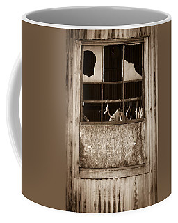 Hangers In The Window Coffee Mug