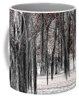 Hanging Moss Coffee Mug by Tom Prendergast