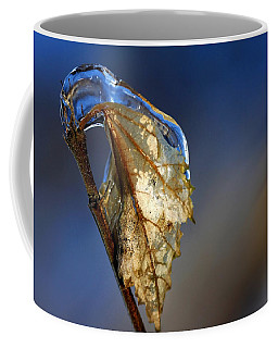 Coffee Mug featuring the photograph The Last Leaf  by Debbie Oppermann