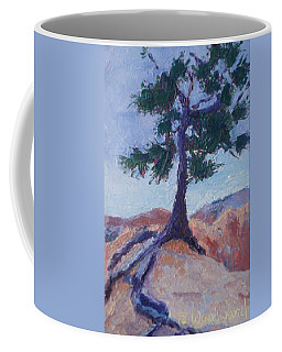 Hanging On For Dear Life Coffee Mug