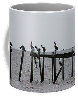 Coffee Mug featuring the photograph Hanging Out With Friends by Beth Vincent