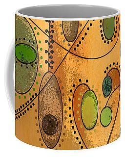 Hanging Ovals Coffee Mug