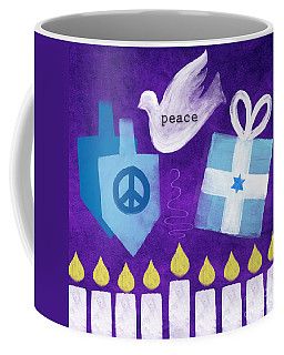 Hanukkah Peace Coffee Mug