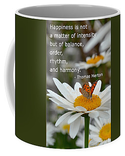 Happiness Is Balance Coffee Mug