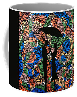 Black Umbrella Coffee Mug