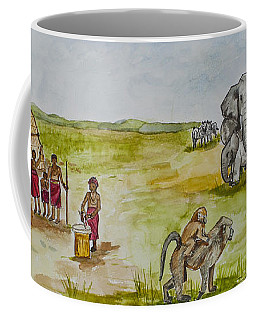Happy Africa Coffee Mug