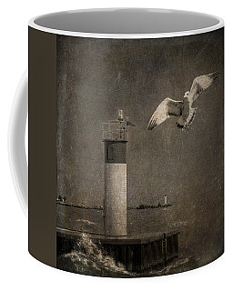 Happy And Free As A Seagull Coffee Mug