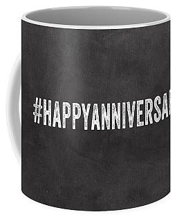 Happy Anniversary- Greeting Card Coffee Mug