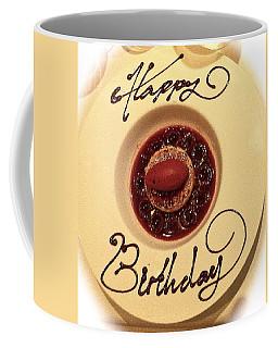 Happy Birthday Dessert Coffee Mug by Venetia Featherstone-Witty