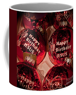 Happy Birthday Jesus Coffee Mug by Joann Copeland-Paul