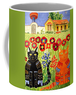 Happy Cats Coffee Mug