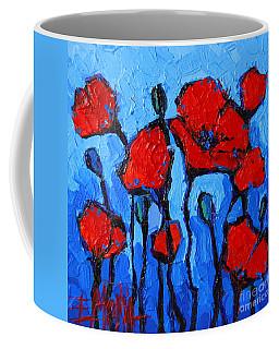 Happy Coquelicots Coffee Mug