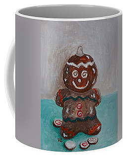 Happy Gingerbread Man Coffee Mug