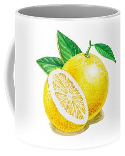 Happy Grapefruit- Irina Sztukowski Coffee Mug by Irina Sztukowski