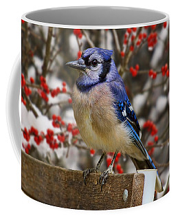 Coffee Mug featuring the photograph Happy Holidays by Gary Holmes