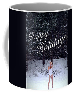 Coffee Mug featuring the photograph Happy Holidays by Lisa Piper