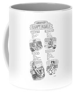 'happy Meals For Grown Ups' Coffee Mug