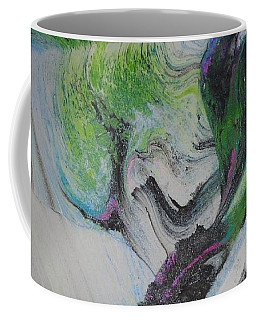 Coffee Mug featuring the painting Happy by Mike Breau