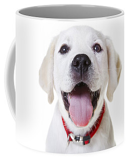 Happy Puppy Coffee Mug