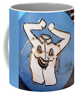 Happy Shirt Sign Coffee Mug by Art Block Collections
