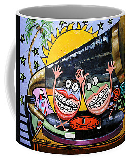 Coffee Mug featuring the painting Happy Teeth When Your Smiling by Anthony Falbo