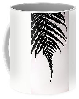 Hapu'u Frond Leaf Silhouette Coffee Mug by Lehua Pekelo-Stearns