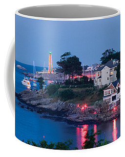 Marblehead Harbor Illumination Coffee Mug