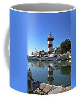 Harbor Town Lighthouse Coffee Mug