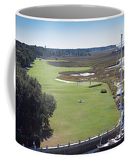 Harbourtown Golf Course 18th Hole Coffee Mug