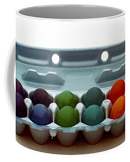 Hard Boiled Spectrum  Coffee Mug by Michael Hoard