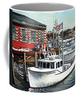 Hard Merchandise Rocky Neck Coffee Mug by Eileen Patten Oliver