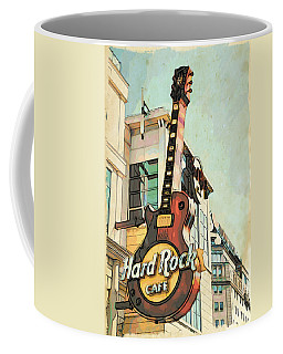 Hard Rock Guitar Coffee Mug