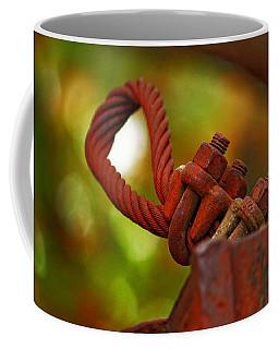 Coffee Mug featuring the photograph Hardware by Rowana Ray