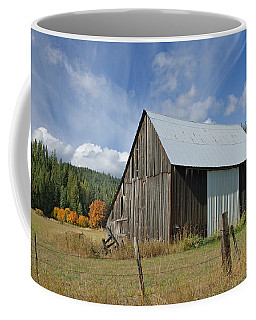 Hardy Creek Road Barn Coffee Mug