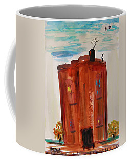 Harlem Townhouse Coffee Mug by Mary Carol Williams