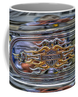 Harley Badge Coffee Mug