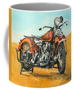 Harley Davidson Knucklehead Coffee Mug