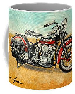 Harley Davidson Panhead Coffee Mug