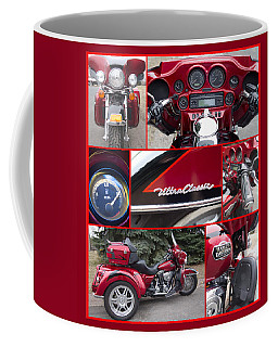 Harley Davidson Ultra Classic Trike Coffee Mug
