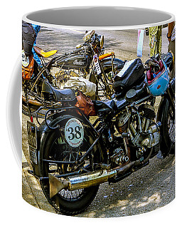 Harleys And Indians Coffee Mug