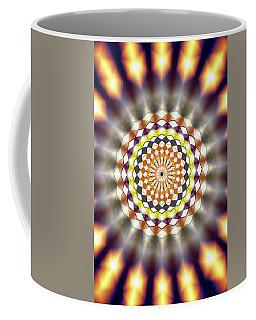 Coffee Mug featuring the drawing Harmonic Sphere Of Energy by Derek Gedney