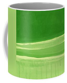 Harmony In Green Coffee Mug