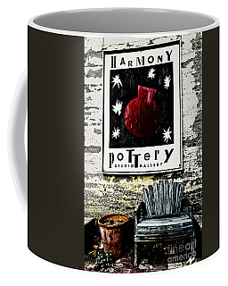 Harmony Pottery Coffee Mug by Terry Garvin